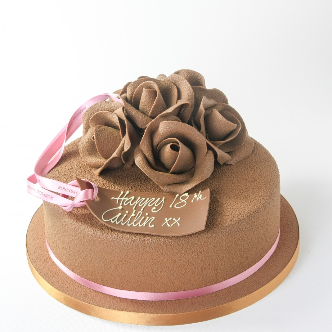 Chocolate Rose Design