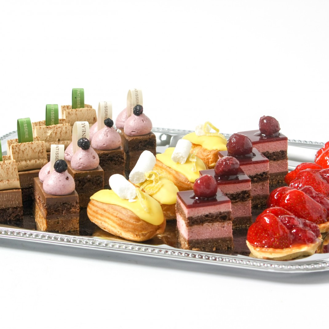 20 Mini French Patisserie Tray