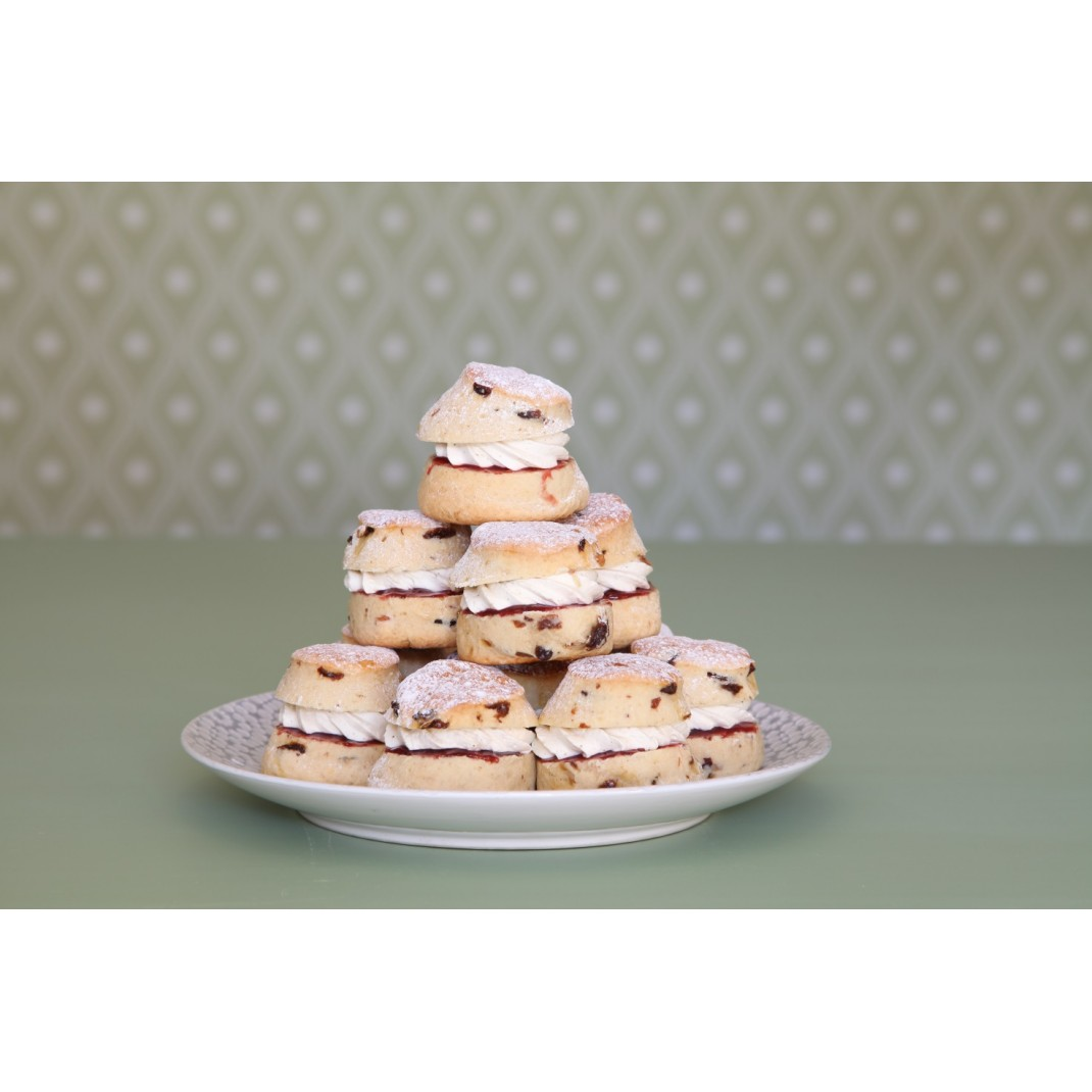 Mini Cream Scone Platter