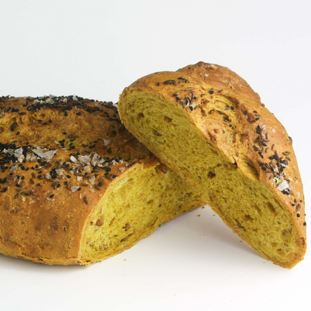 Bread: Malted Curry Loaf