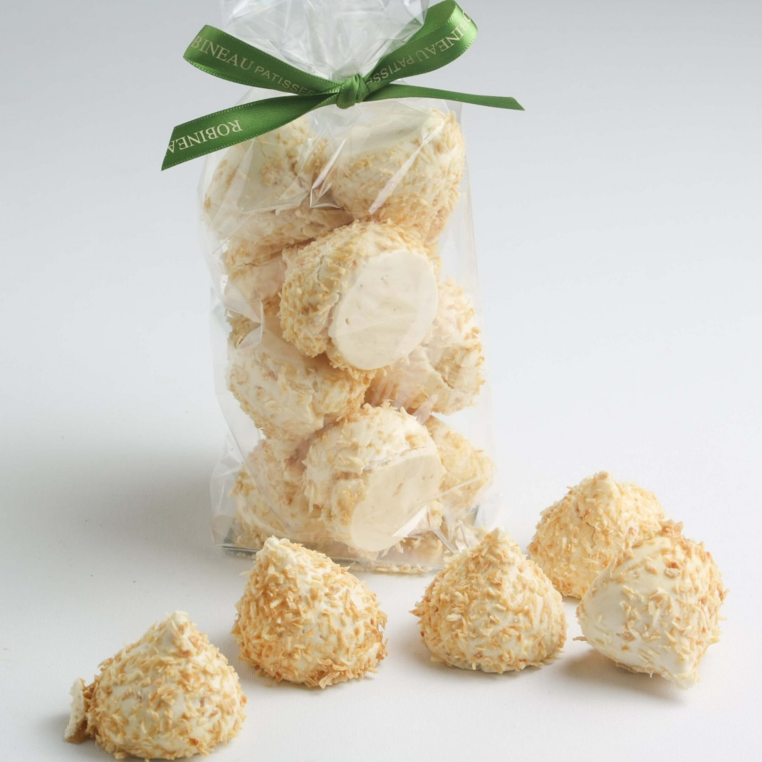 Mini Coconut Meringues