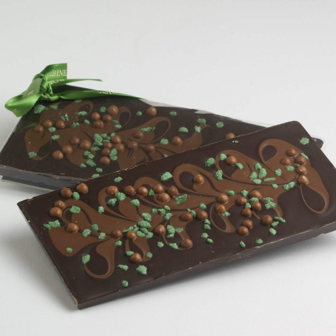 Bar: Dark & Milk Chocolate Mint