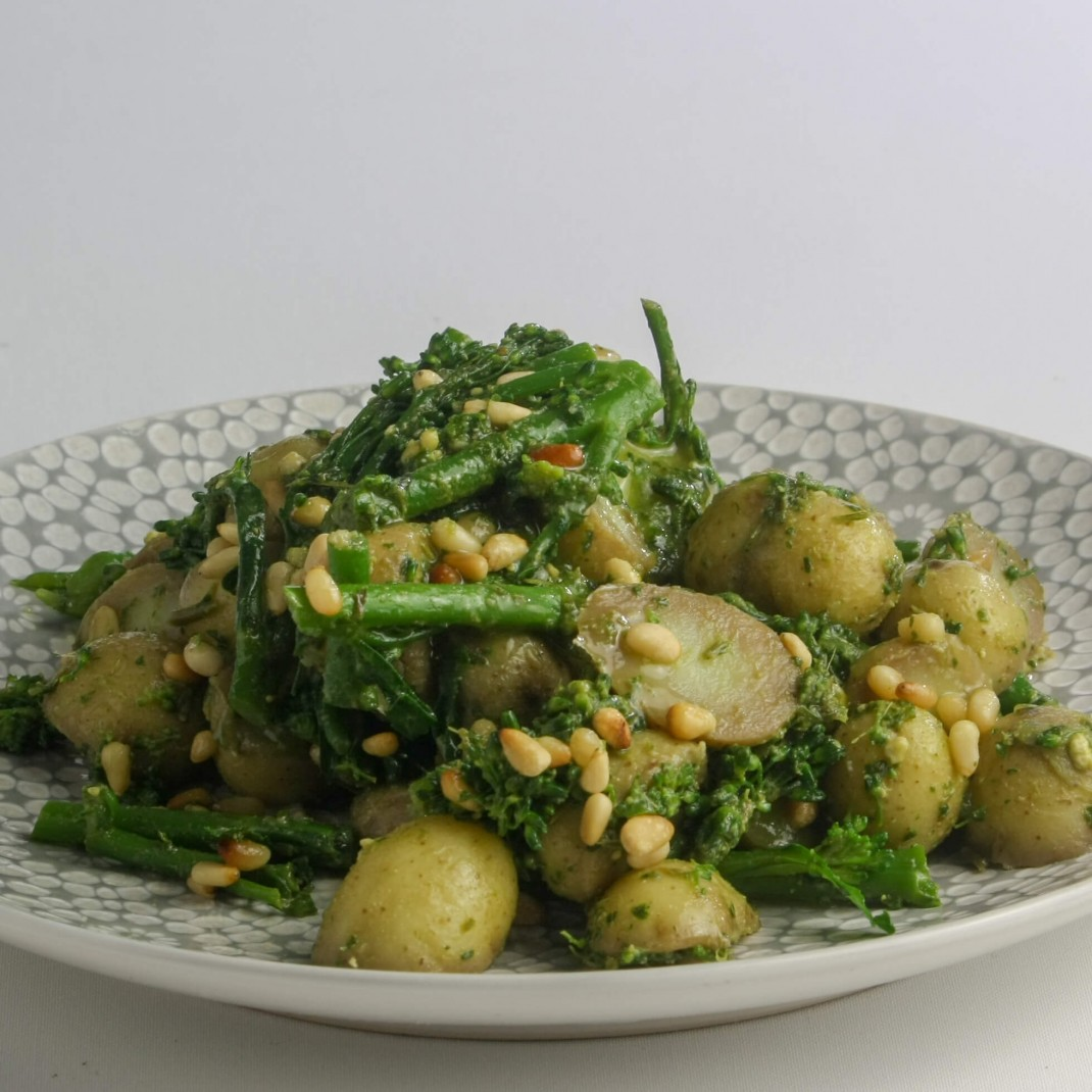 Salad: Broccoli, New Potato and Pesto