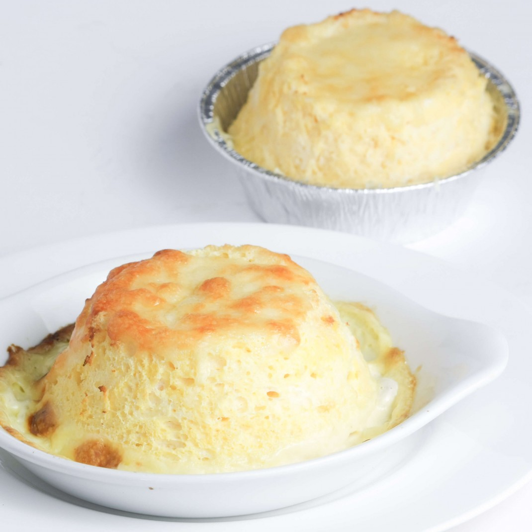 Cotherstone Cheese Soufflé